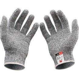 [Corte luvas resistentes] luvas de cozinha com Grade Level 5 Protecção das mãos Food | peso Luz Luvas luvas de trabalho Segurança 500pcs