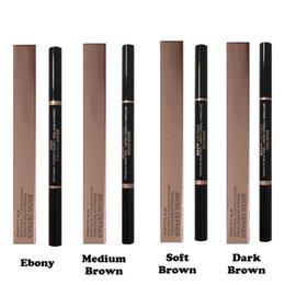 Wholesale Ana Brow Definer Makeup Skinny Brow Pencil Crayon A Sourcils Fin Soft Brown Medium Brown Dark Brown