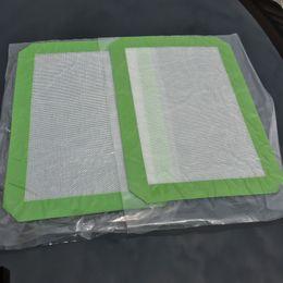 Bâton non-Mats silicone pour Wax 30CM x 21CM (11,81 x 8,27 pouces) Pads de cuisson en silicone Mat Dab huile de cuisson à sec Herb