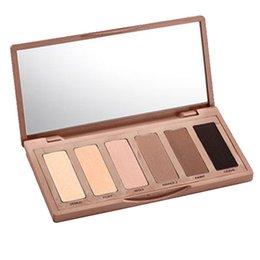 Wholesale 2016 Brand New Powder Makeup Cosmetic Basics Eyeshadow Palette color Eye Shadow Mirror