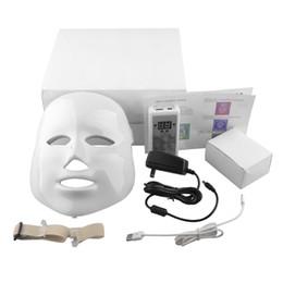 Корейский LED Фотодинамическая маска для лица Главная Используйте инструмент красоты Анти-акне омоложения кожи LED Фотодинамическая красоты Маски
