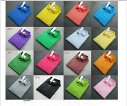 Wholesale Camisa Polo Shirt Polo Men Breathable Summer Short Sleeve Famous Brand Polo Casual Cotton Lapel Mens Solid Shirts S XL