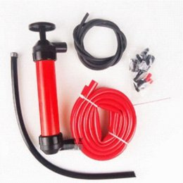 Manual Oil Pump Pumping Hand Siphon Tube Car Hose Liquid Gas Transfer Sucker Suction Device Fuel Tank from siphon hose suppliers