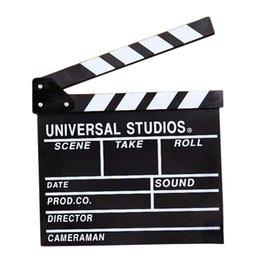 50PCS директор видеоэпизода Clapperboard TV Movie хлопушка фильм Slate Cut Prop