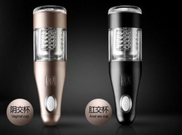 Wholesale Hot Automatic Electric Male Masturbator Sex Machine Vagina Ass Hands Free Thrusting Rotary Piston Masturbation Cup Sex toys