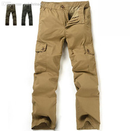Discount Big Mens Cargo Pants Elastic Waist | 2017 Big Mens Cargo ...