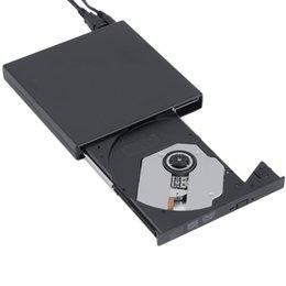 Новый черный USB 2.0 внешний CD + DVD + -RW -RW DVD-RAM привод горелки Writer для портативных ПК Оптовая