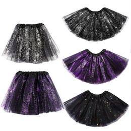 Wholesale New Arrivals Baby Girls Kids Noël Dancing Tulle Tutu Jupes Pettiskirt Dancewear Ballet Dress Costume Fantaisie Jupe KA1104 Livraison gratuite