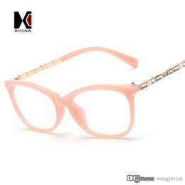 vintage crystal decration eyewear brand designer women fashion cateye glasses frame clear lens eyeglasses frame cheap top quality