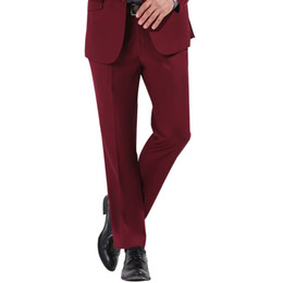 Discount Red Dress Pants Men | 2017 Red Dress Pants For Men on ...