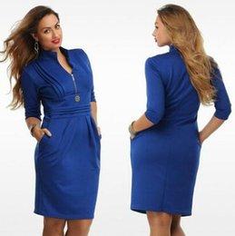 plus size zipper dress 4t