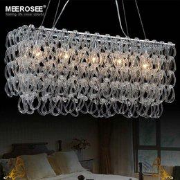 Glass Chandelier Modern: Modern Glass Chandelier Lustres Rectangle Lighting Fxiture Hotel Bedroom  Dining Room Suspension Light Lamp 100% Guarentee,Lighting