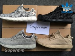 Wholesale 2016 Adidas Yeezy Boost Pirate Black Turtle Dove Moonrock Oxford Tan Mens Running Shoes Women Kanye West Yeezy Yeezys Season