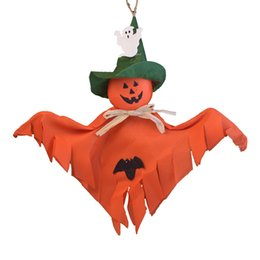 Discount Small House Decoration Hotsale New Halloween Props Decoration Haunted House Accessories Kindergarten Terror Small Smile