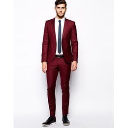 Cheap Slim Fit Red Men S Suit | Free Shipping Slim Fit Red Men S