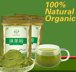 100g Матча порошок зеленого чая 100% Натуральный Органический чай для похудения чай Матча потеря веса питание + Бесплатная доставка