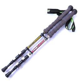 Блокировка Carbon Ultralight Открытый трекинговые палки с палкой может быть растянут трекинговые палки отлично подходит для скалолазания Горные лыжи Туризм и играть