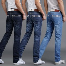 Discount Jeans Straight High Waist Men | 2017 Jeans Straight High
