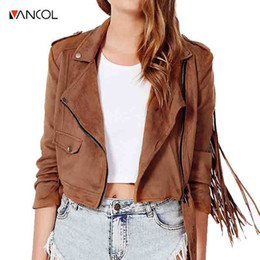 Discount Ladies Short Brown Leather Jacket | 2017 Ladies Short