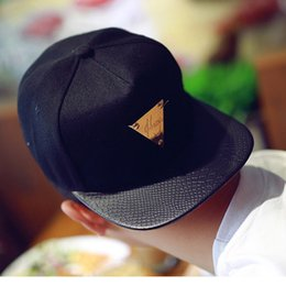 Men baseball cap Triangle pattern hip-hop street dance fashion Cap pop youth for teenagers cool handsome Accessories 2016 NEW Arrival cheap teenagers accessories from teenagers accessories suppliers