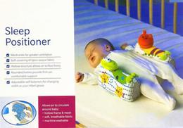 Wholesale Newborn Baby Sleep Positioner Pillow Anti Roll Infant Sleep Positioner Newborn Toddler Sleep Nursing Pillow Lion Giraffe Figure