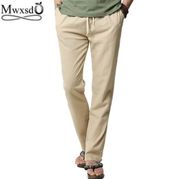 Discount Khaki Linen Pants For Men | 2017 Khaki Linen Pants For ...