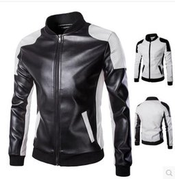 Discount White Leather Biker Jacket | 2017 Mens White Leather
