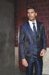 Navy Suit Gold Tie Online | Navy Blue Suit Gold Tie for Sale