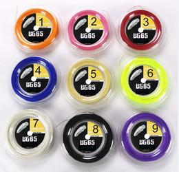 Vente en gros-Livraison gratuite (1 bobine / lot) Bobine BG65 Badminton 200M