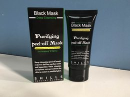 Black Suction Mask Anti-Envelhecimento 50ml SHILLS Deep Cleansing purifying peel off Máscara facial preta Remove blackhead Máscaras Peel