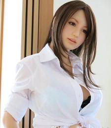 Reale Geschlechtspuppe des vollen Körpers reizvolles Geschlechtspuppe-Geschlechtsspielzeug der japanischen Silikongeschlechtspuppen der lebensechten männlichen Liebespuppenlebengröße realistische