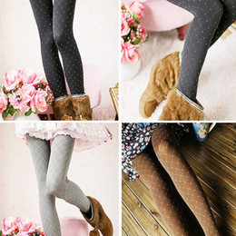 2016 fashion stretch point stripe pantyhose 4 colors printed women collants sexy skinny tights high elasticity women sports leggings - Collants Colors