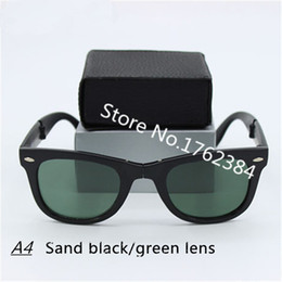 online shopping High definition Advanced Polycarbonat Lens Glasses Women Brand Designer Folding Fashionable Standard Sunglasses Men Sport WITH BOX