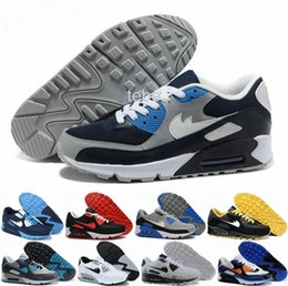 Discount Shoes Run Air Max 2016 Hot Sale Max 90 Camouflage Men Running Shoes Fashion Mens Sports Max90 Breathable Training Shoe Size 40-44 Air Free Shipping