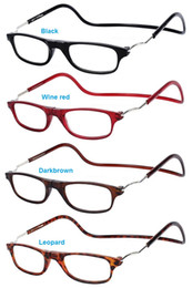 Wholesale Reading Glasses Diopter Strength Hanging Magnetic Resin