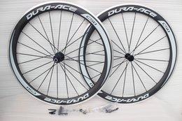 essieux de vélo de carbone bricolage plein carbone Vélos de route en fibre roues jantes basalte roue de bicyclette frein carbone avec Brochette + frein pad pneu roues
