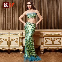 Wholesale Sexy Costume Sex Clothes Mermaid Green Roleplay Dress Sexy lingerie Underwea For Women Adult Games Apparel Erotic Flirt Wear