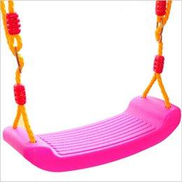 bebé de juguete Swings con línea de colorido en forma material seguro para los 3 años hasta buen regalo para los niños de educación temprana