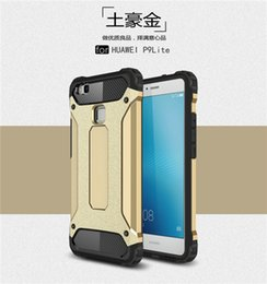online shopping For Huawei P9 P8 Lite Plus Honor C V8 Mate Armor Case Rugged Hybrid Dual Layer Shockproof case cover