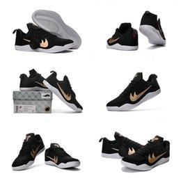 Kobe Mens Basketball Shoes Sneakers Man Fashion Bryant Kobes IX Black Sports KB s GCR Trainer Basketball Shoe Size online
