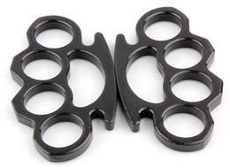 50PCS Тонкие стальные Латунь кастеты, Самообороны Личная безопасность женщин и мужчин самообороны Кулон
