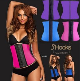 Wholesale Rubber Corset Women Waist Training shapers Cincher Belt Waist trainer Belt Underbust Body Shapewear XS XL Colors