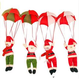 2016 Newest Santa Coming Christmas Home Ceiling Decorations Santa Claus Christmas Hanging Pendant Christmas Decoration Supplies