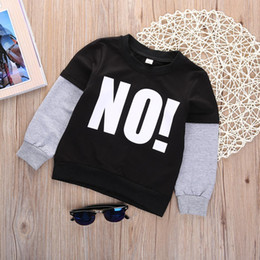 Wholesale 2016 Baby Jumper Boy Girl Sweater Toddler Kids Long Sleeve Crew Neck T Shirt Tops