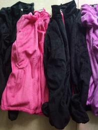 Wholesale 2016 New Winter Women s Fleece Brand Jackets Outdoor Casual Warm Ladies Windproof Bomber Jacket Sportswear Black Grey Purple Size S XXL