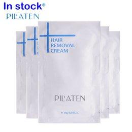 Novo arival PILATEN Depilação Creme Painless Depilatório Creme Para Perna / Axila / Corpo 10g Creme Depilatório