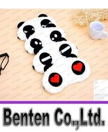 Wholesale Cotton Panda Goggles Sleep Mask Shading Moisture Remove Dark Circles Cartoon Eye goggles Improve Sleep Quality Moist Eyes LLFA88