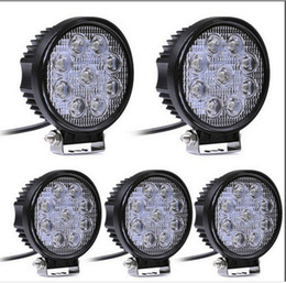 online shopping 4 Inch W LED Work Light Bar for Indicators Motorcycle Driving Offroad Boat Car Tractor Truck x4 SUV ATV Flood V