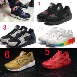 2016 New Design High Quality Air Huarache Breathe Mesh Shoes Men Women s Huaraches Running Casual shoes Sneakers Size online