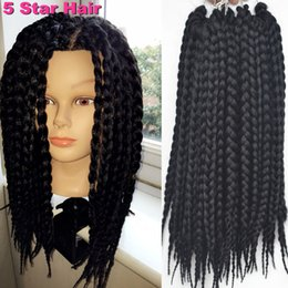 Crochet Box Braids 12 Inch : Hair Extensions Braids Styles - Braids